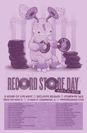 Record Store Day 2012 Flyer